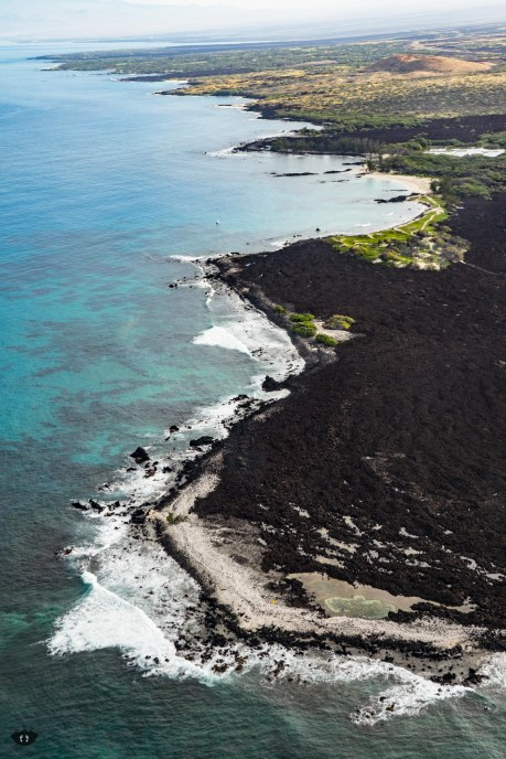 Big Island's west coast