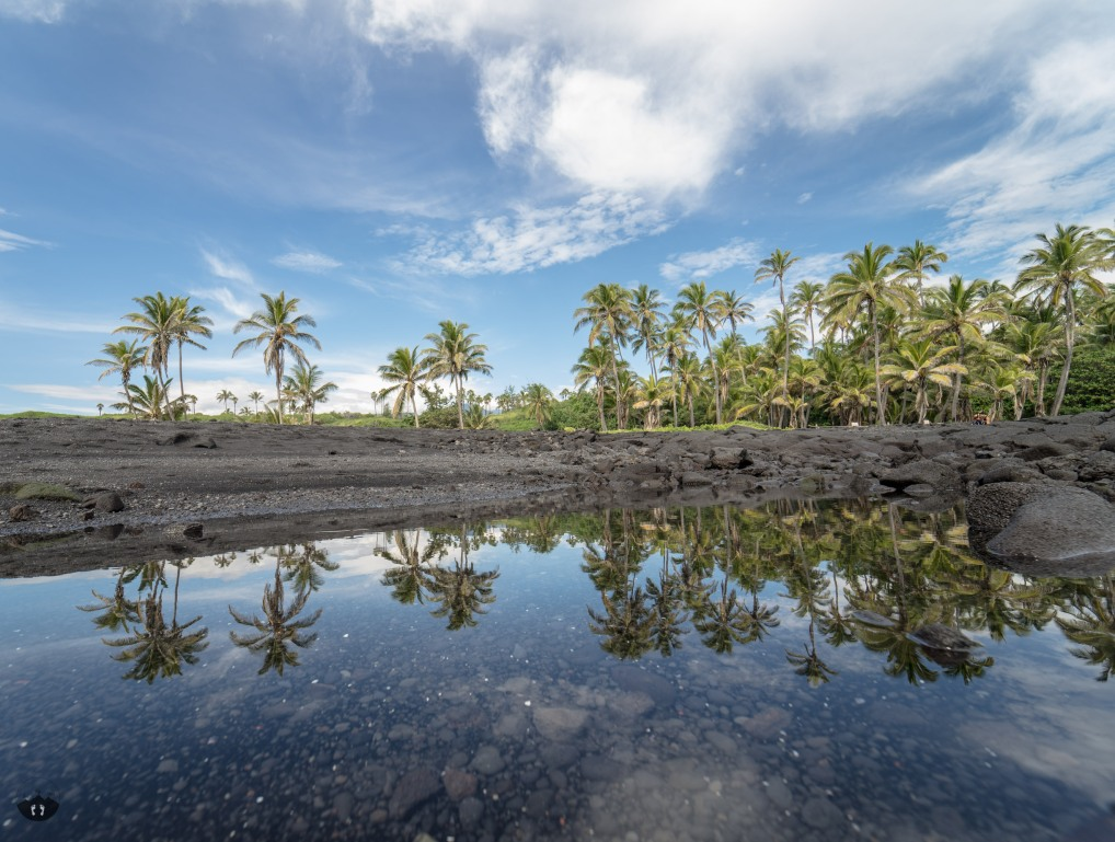 Black Sand Beach Big Island