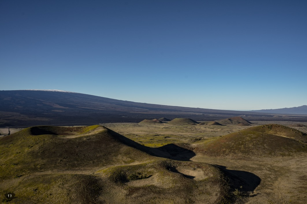 Highlands between Mauna Loa and Mauna Kea