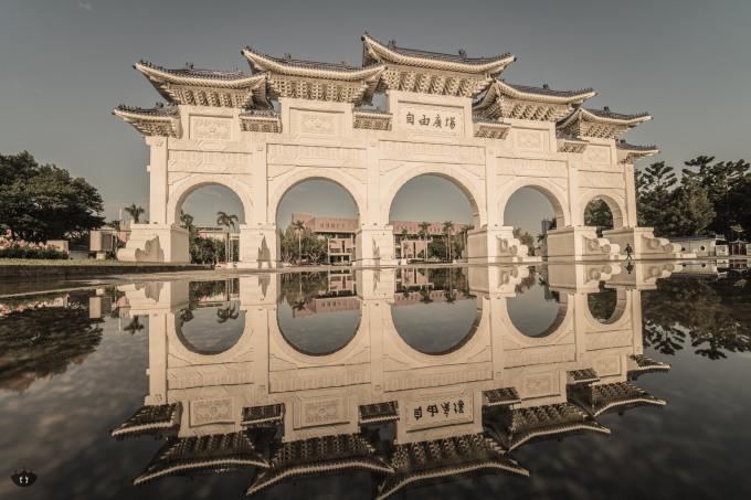 gate of the liberty square, Taipei