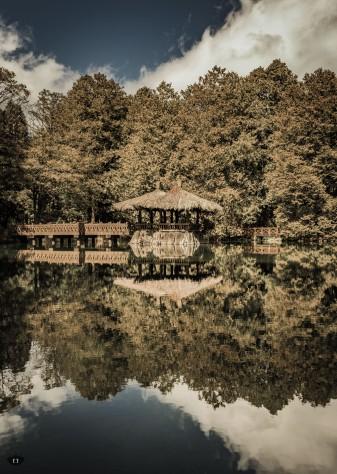 Sisters pond, Alishan
