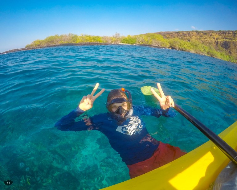 Snorkeling at Captain Cook