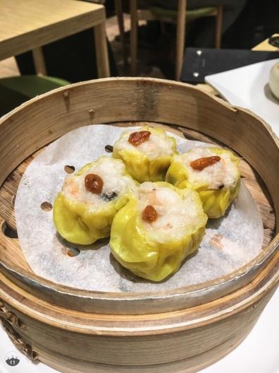 Shrimp filled steamed Dumplings