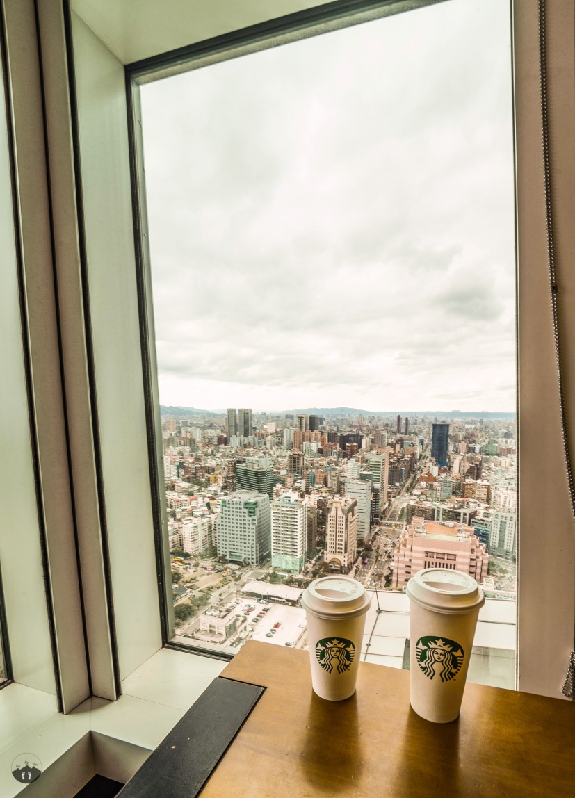 Starbucks at Taipei 101