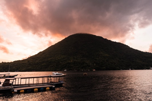 Gunung Api during Sunset