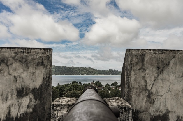 View from the Fort on Banda Naira