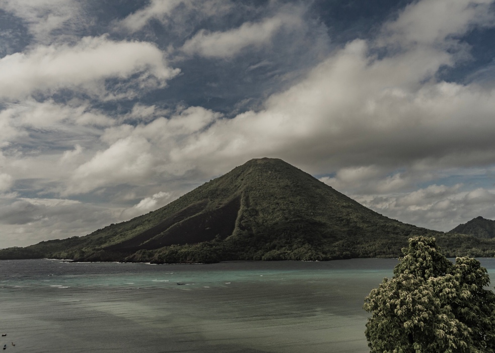 Pulau gunung api