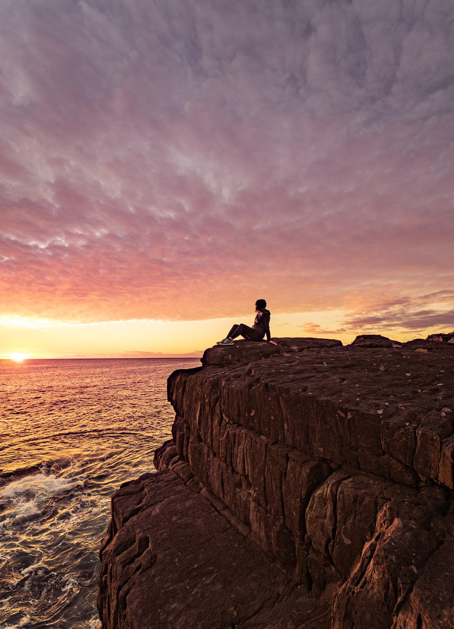 Sunrise at Green Cape