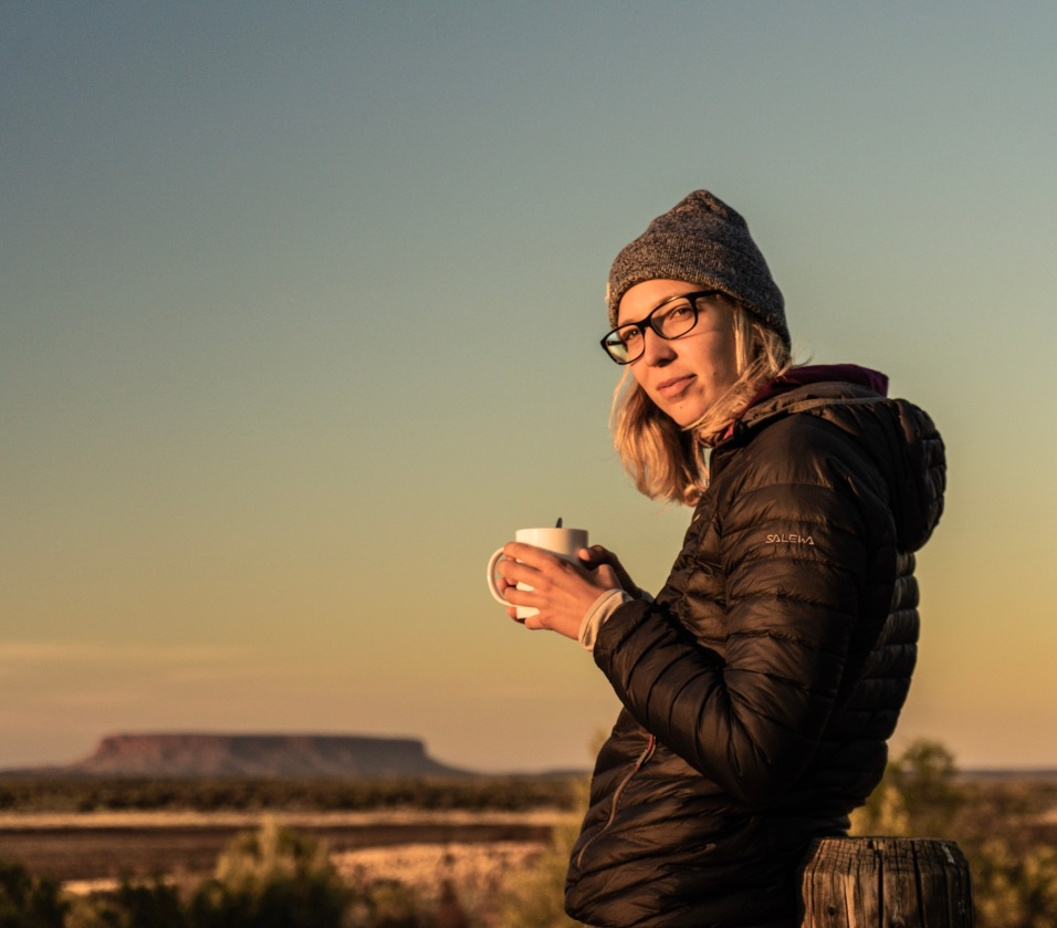 Morning Coffee at Uluru